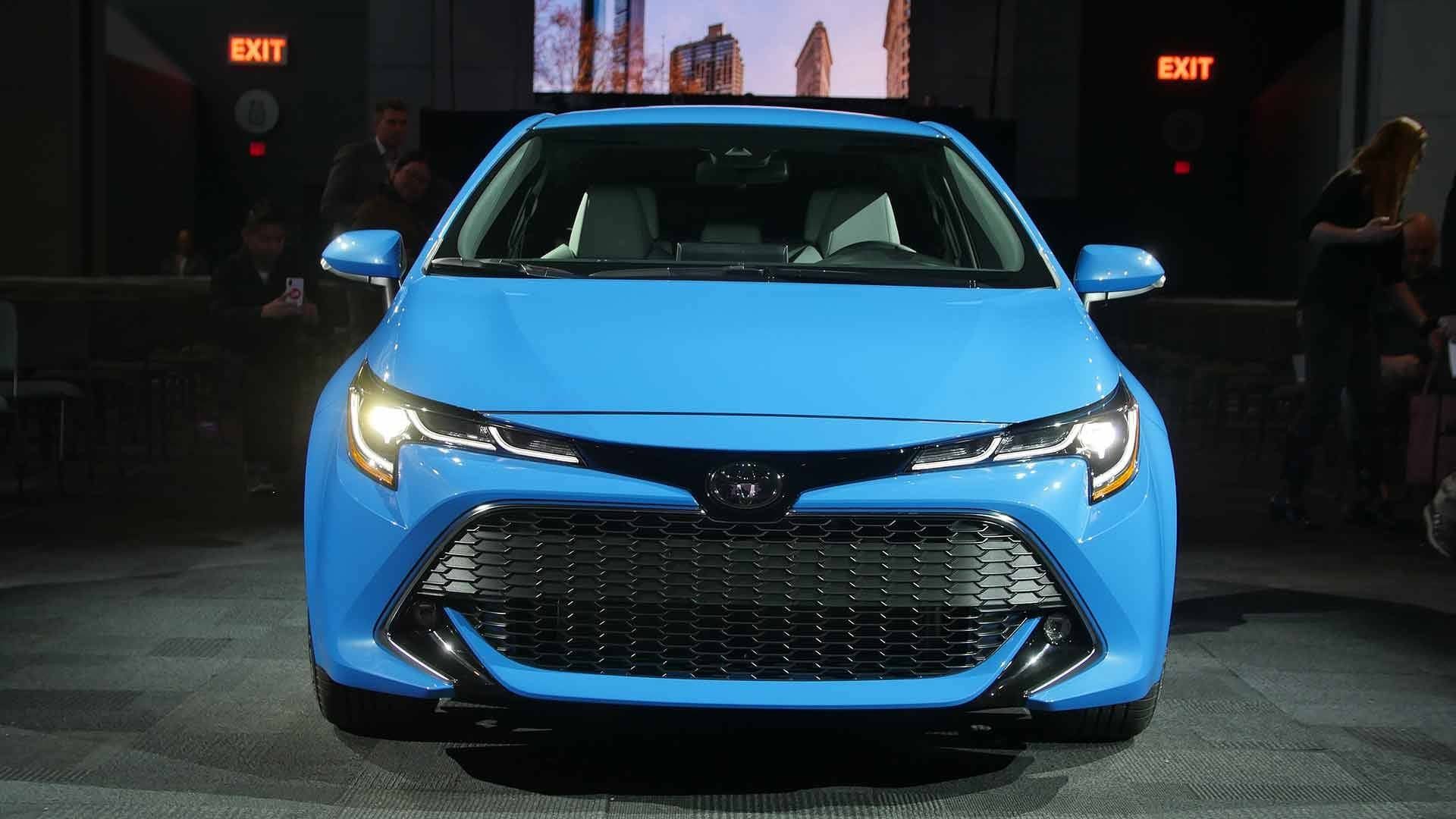2019 Toyota Corolla Hatchback Is Capable Of Seeing